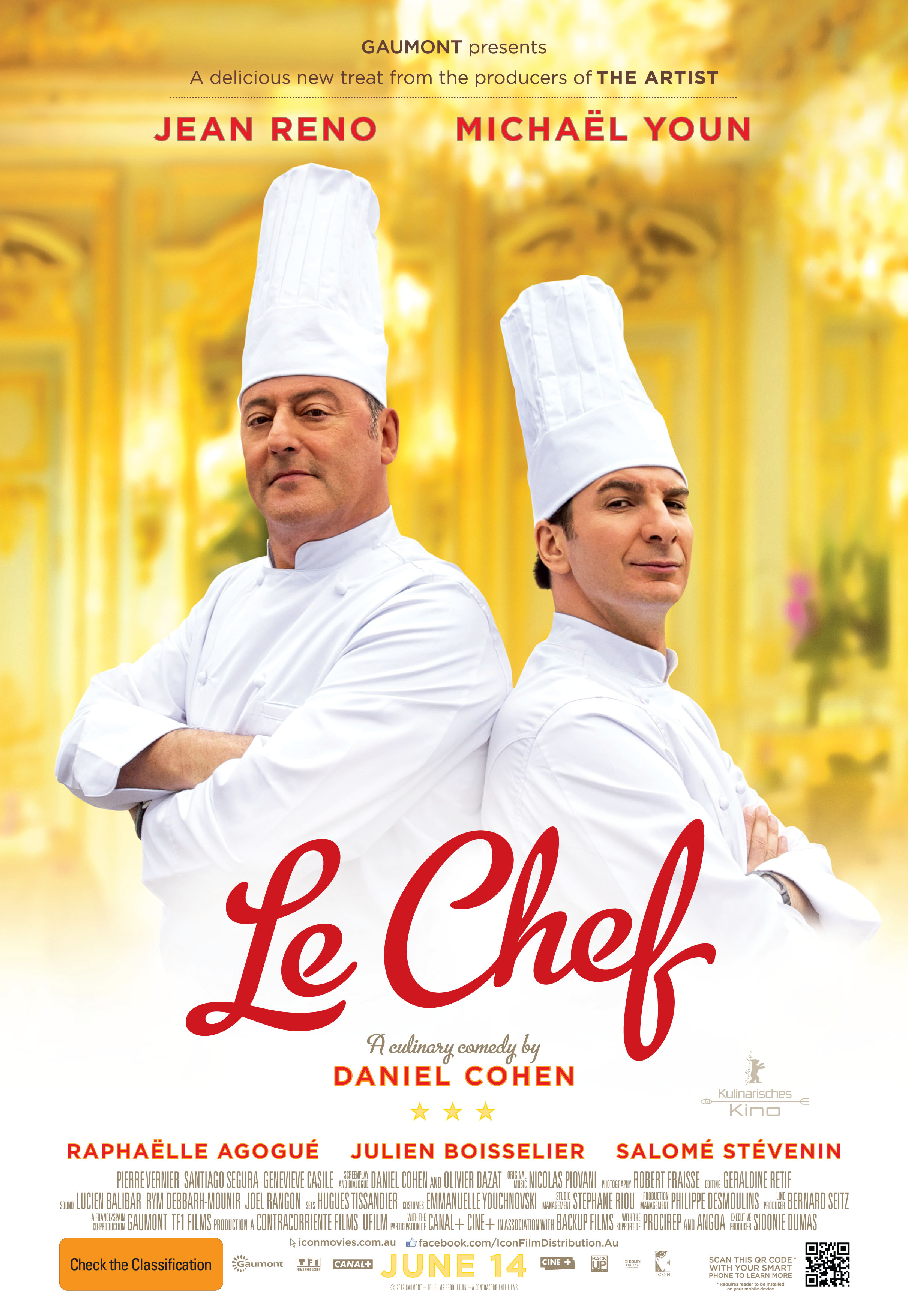 Review le chef the reel bits for Best farcical films