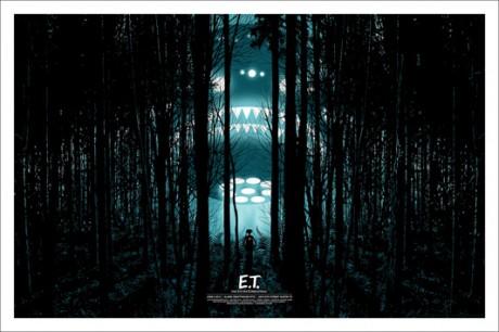 E.T. - The Extra-Terrestrial - Mondo poster - Dan McCarth