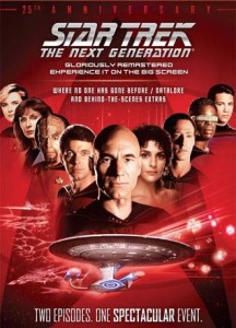 Star Trek: The Next Generation - 25th Anniversary Event poster