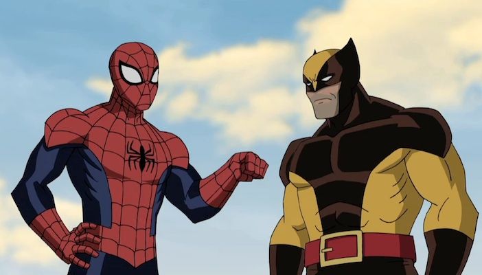 Ultimate Spider-man - Behind the Scenes with Wolverine