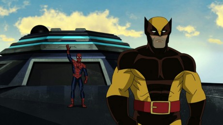 Ultimate Spider-Man - Season 2 - Wolverine and Spidey