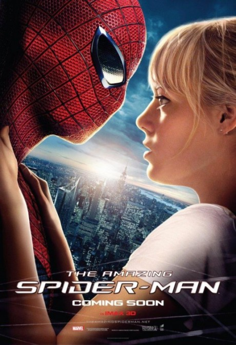 The Amazing Spider-man poster - Peter and Gwen