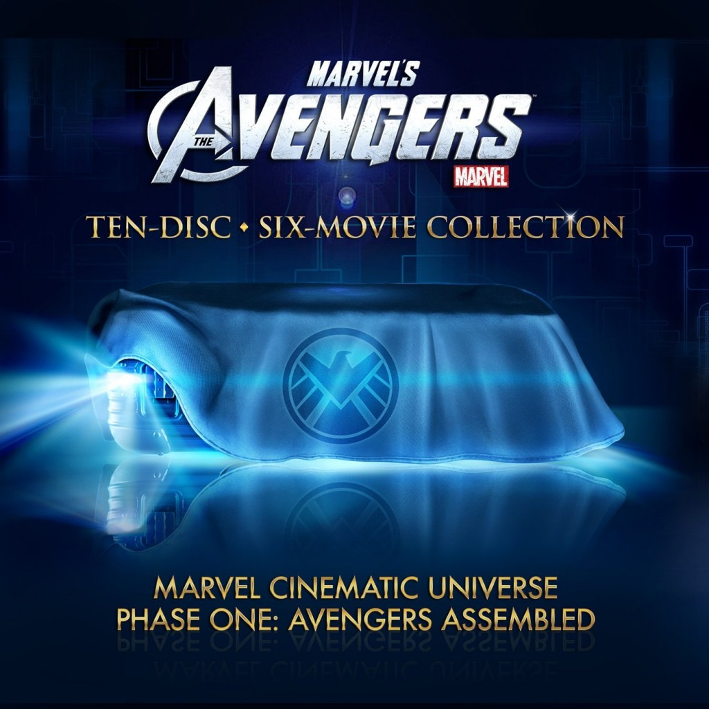 The Avengers - 10-Disc Blu-ray Collection