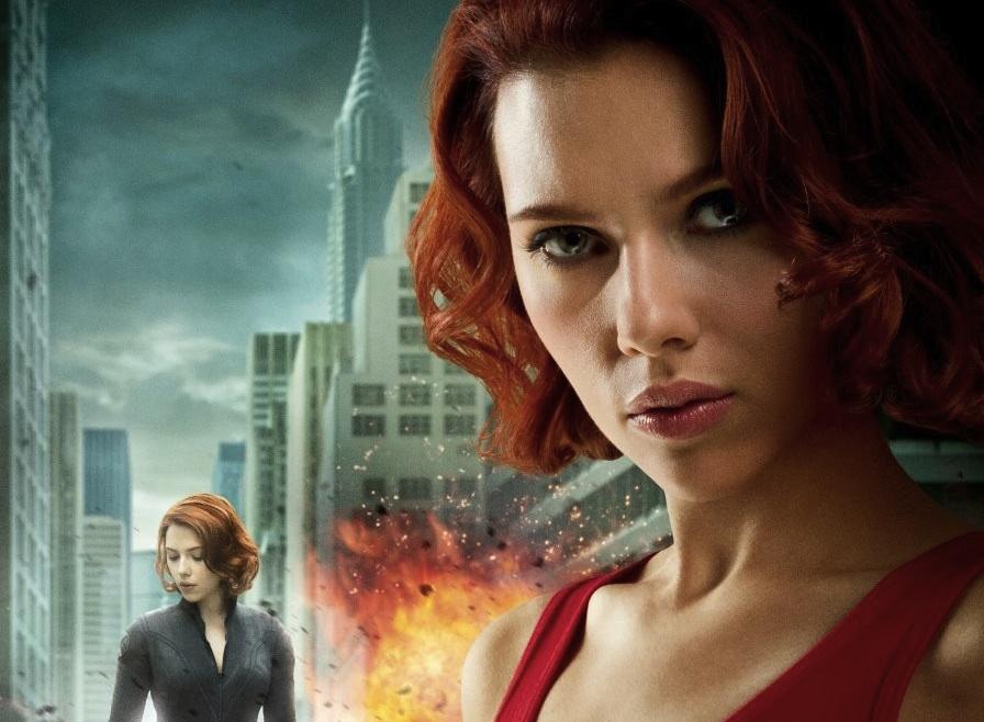 The Avengers - Black Widow poster - Japan