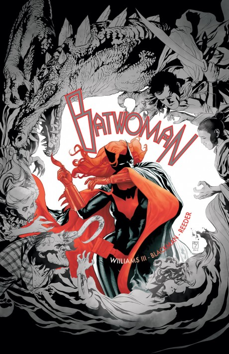 Batwoman #10 (DC) - Artist: J.H. Williams III