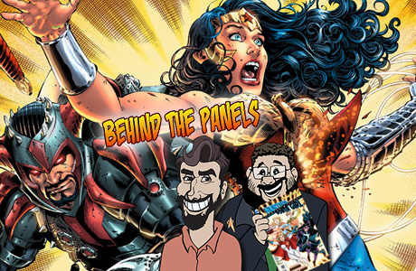 Behind the Panels Banner - DC New 52 Second Wave