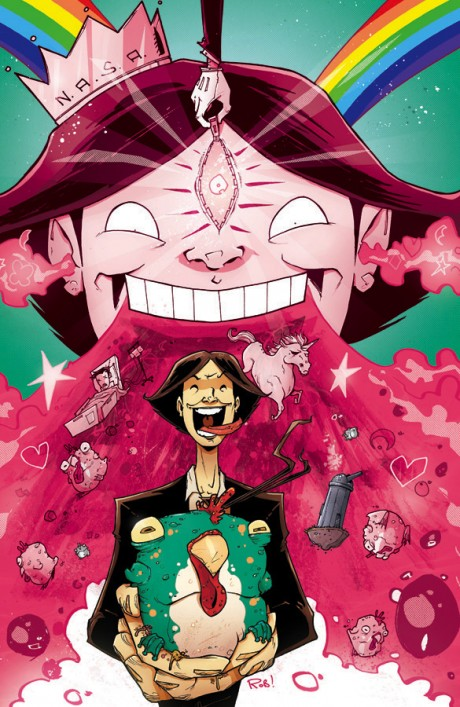 Chew #27 (Image) - Cover: Rob Guillroy