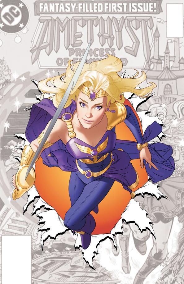 DC Comics - #0 Zero Issue - Sword of Sorcery (Amethyst)