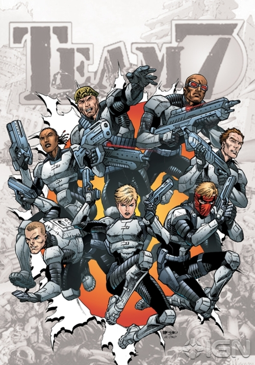 DC Comics - #0 Zero Issue - Team 7