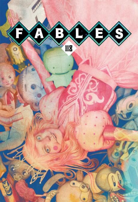 Fables #118 (DC/Vertigo) - Artist: Joao Ruas