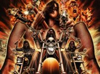Frankenstein Created Bikers poster (Tom Hodge) - Nude Biker Chick
