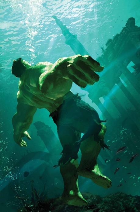 The Incredible Hulk #9 (Marvel) - Artist: Michael Komarck