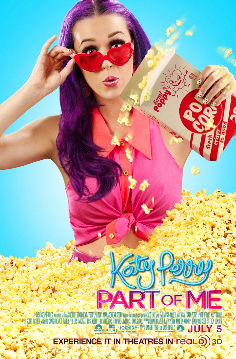 Katy Perry: Part of Me poster 2