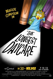 Maggie Simpson in The Longest Daycare poster