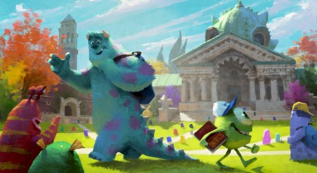 """MONSTERS UNIVERSITY"" Concept art."