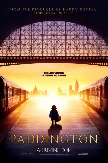 Paddington Bear Movie Poster (2014)