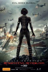 Resident Evil: Retribution poster - International