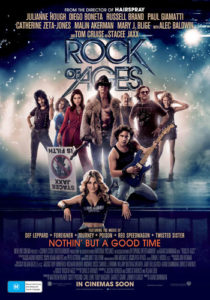 Rock of Ages poster - Australia