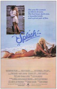 Splash (1984) poster