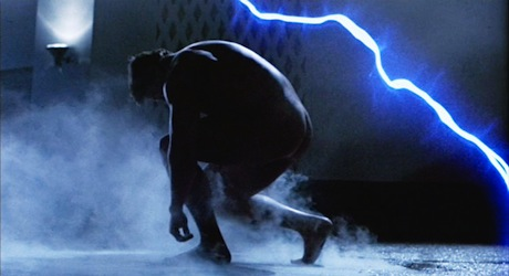 The Terminator Time Travel - Arnie is naked!