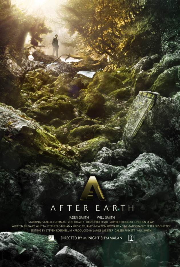After Earth (Hopko Designs) poster
