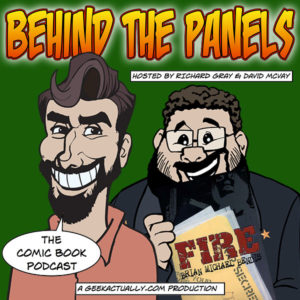 Behind the Panels Cover Art - Ep 34