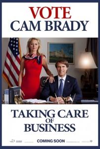 Vote Cam Brady - The Campaign movie poster