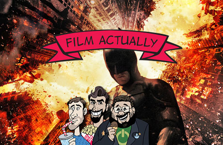 Film Actually banner - The Dark Knight Rises