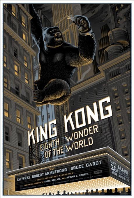 King Kong - Mondo poster