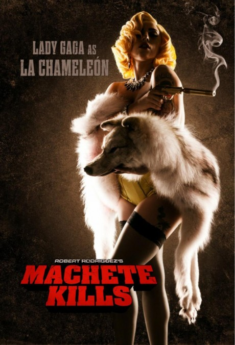 Machete Kills - Lady Gaga poster