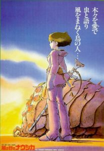 Nausicaä of the Valley of the Wind poster - Japan