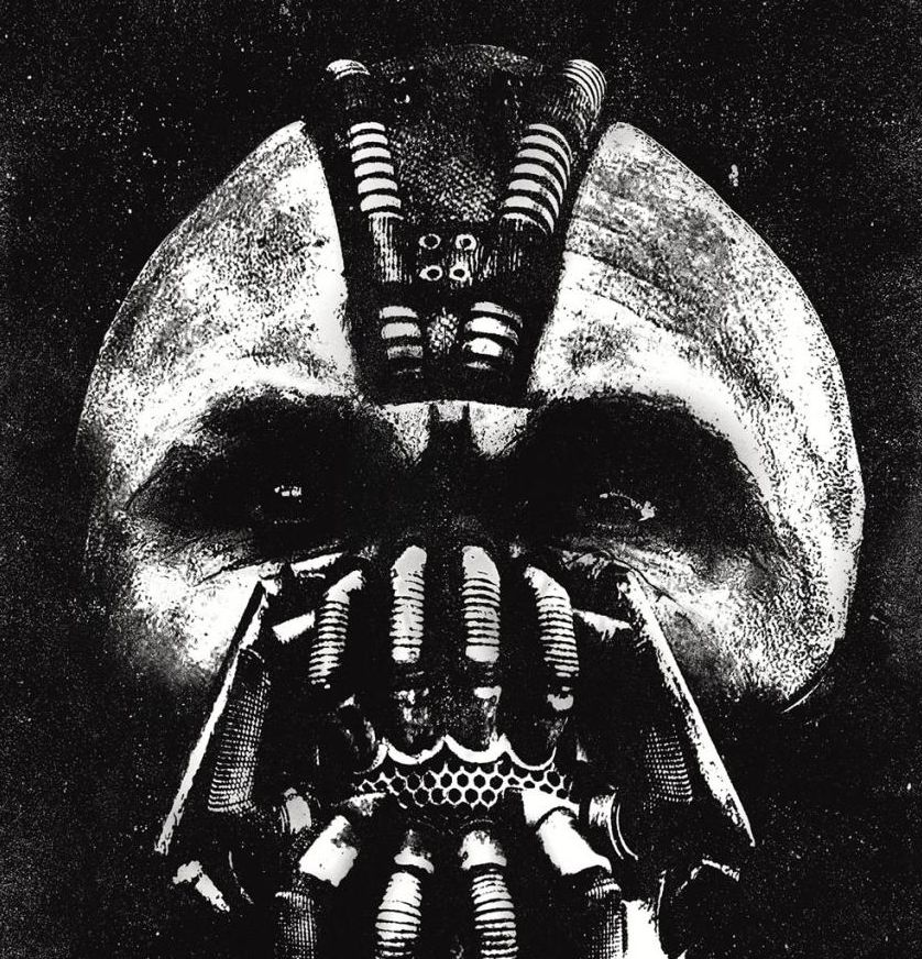 The Dark Knight Rises - Bane IMAX poster