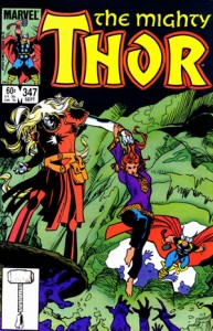 The Mighty Thor 347 Cover