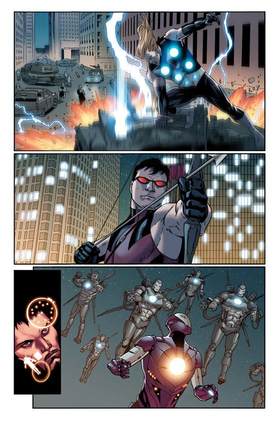 Ultimate Comics: Ultimates 14 Preview 1