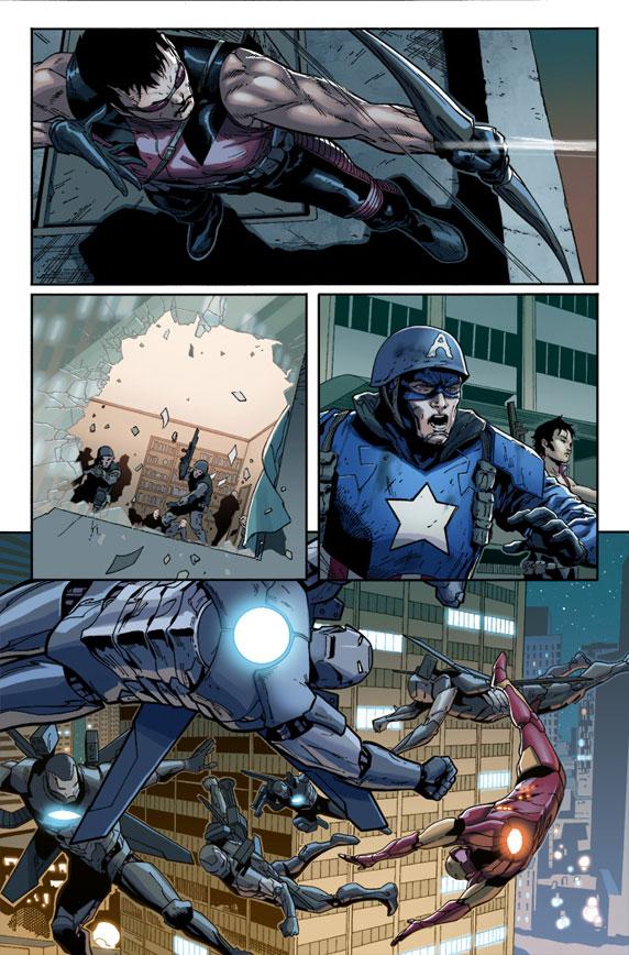 Ultimate Comics: Ultimates 14 Preview 2