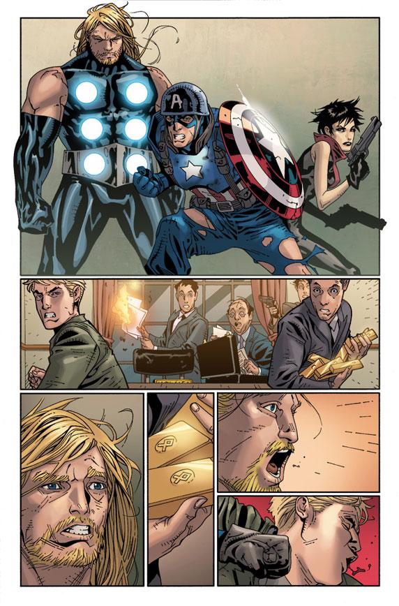 Ultimate Comics: Ultimates 14 Preview 3