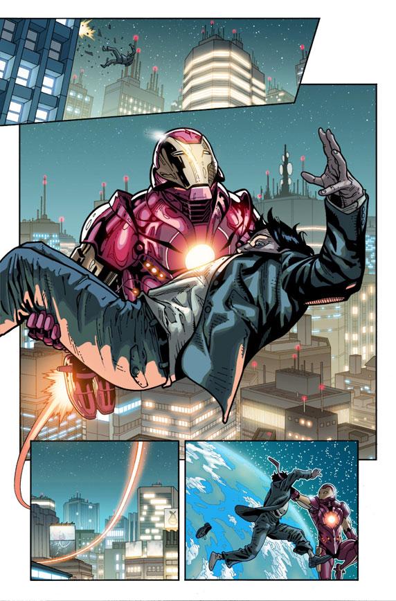 Ultimate Comics: Ultimates 14 Preview 4