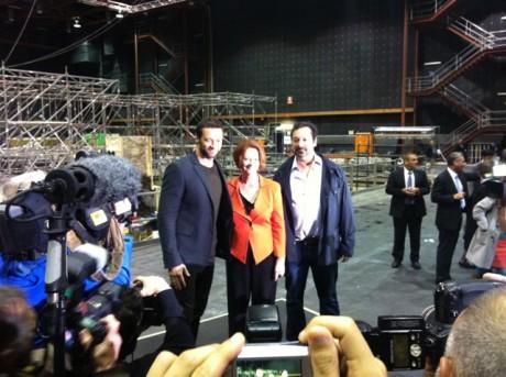 The Wolverine - Hugh Jackman, Julia Gillard, James Mangold (IF.com.au)