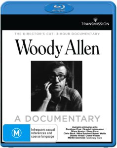 Woody Allen: A Documentary Blu-ray Cover