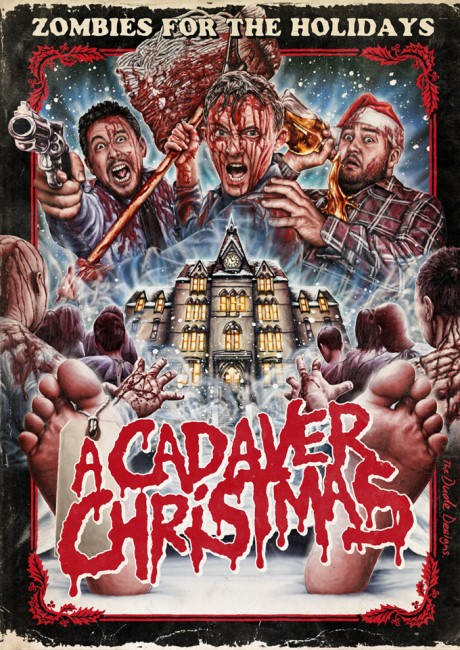 A Cadaver Christmas - Tom Hodge poster