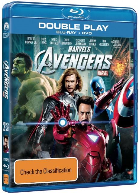 Avengers Blu-ray - Australia