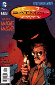 Batman Incorporated #3 (2012) - Cover