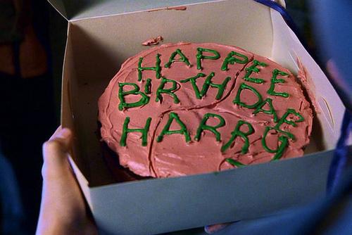 Happy Birthday Harry Potter Cake