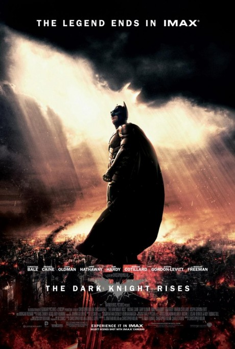 The Dark Knight Rises - IMAX poster