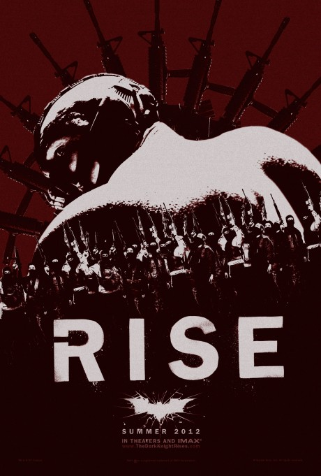 The Dark Knight Rises - Rise poster