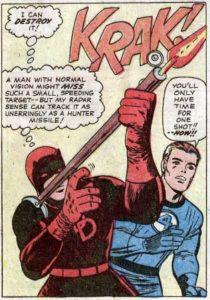 Fantastic Four #40 - Featuring Daredevil