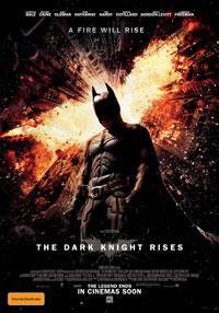 The Dark Knight Rises poster - Australia