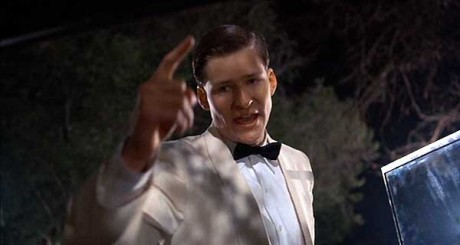 Crispin Glover as George McFly in BACK TO THE FUTURE