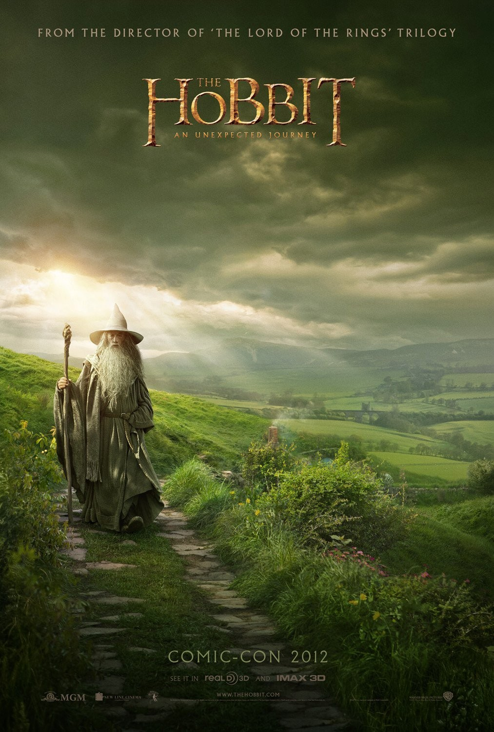hobbit_an_unexpected_journey_comic_con_poster