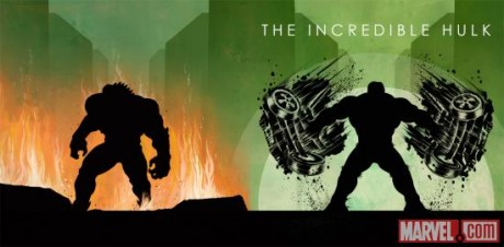 Marvel Phase One Blu-ray - The Incredible Hulk Cover